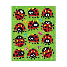 Ladybugs Shape Stickers 72pk