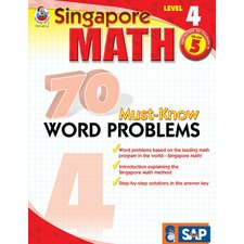 70 Must Know Word Problems Level 4