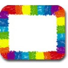 <strong>Frank Schaffer Publications/Carson Dellosa Publications</strong> Name Tags Rainbow Kid-drawn 40/pk