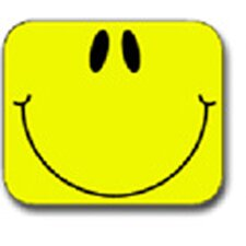 Name Tags Smiley Face Yellow 40/pk