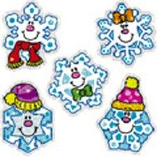 Dazzle Stickers Snowflakes 75-pk