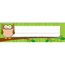 Owls Desk Nameplates