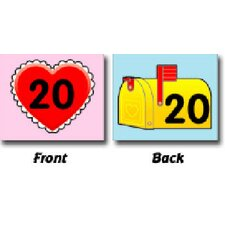 Two-sided Calendar Cover-ups Heart