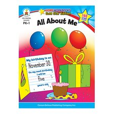 All About Me Home Workbook Gr Pk-1