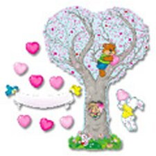 Bb Set Caring Heart Tree