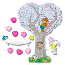 Bb Set Caring Heart Tree
