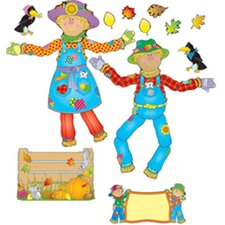 Move & Pose Mr & Mrs Scarecrow bb