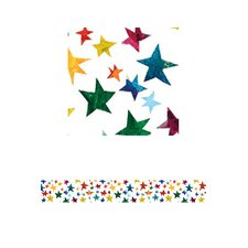 Sparkling Stars Straight Border