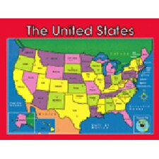 Chartlet Us Map 17 X 22