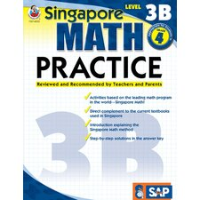 Math Practice Level 3b Gr 4