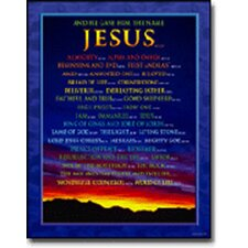 <strong>Frank Schaffer Publications/Carson Dellosa Publications</strong> Chartlet Names Of Jesus 17x22