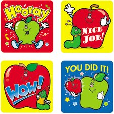 Stickers Apples 120/pk Acid &