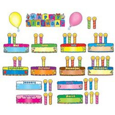 <strong>Frank Schaffer Publications/Carson Dellosa Publications</strong> Birthday Cakes Mini Bb Set