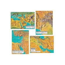 World Geography Middle East Maps Bb