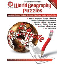 World Geography Puzzles Bb Set