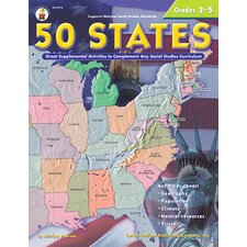 50 States 176 Pages Gr 3-5