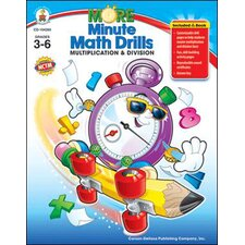 Minute Math Drills Multiplication