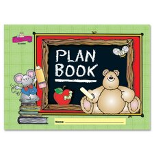 Plan/Record Book, 42 Weeks of Planning Pages, 96 Pages