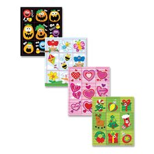 Holiday Treasure Stickers, 24 Sheets, 864 Stickers per Pack, Assorted