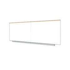 "Premium Porcelain Magnetic 3' 12.5"" x 16' 1.25"" Whiteboard"