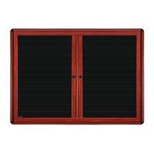 """36"""" x 60"""" 2 Door Ovation Letterboard"""