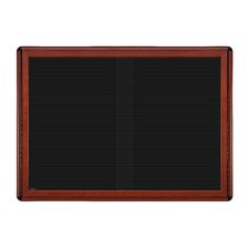"34"" x 47"" 2 Door Sliding Ovation Letterboard"