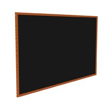 Wood Frame Recycled Rubber Bulletin Board