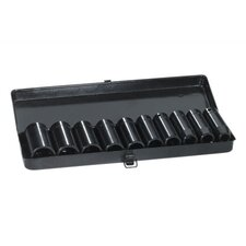 "1/2"" Drive Metric Deep Socket Set"