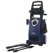1,800PSI, 1.5GPM Electric Pressure Washer with Hose Reel and Detergent Tank
