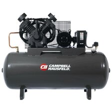 120 Gallon 10 HP Two Stage 3 Phase Air Compressor with Starter