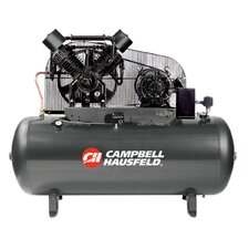 120 Gallon 5 HP Two Stage 3 Phase Air Compressor with Starter