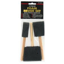 <strong>Gam</strong> 3-Piece Foam Paint Brush Set BF05133 CLP