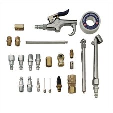 "I/M 1/4"" 25 Piece Accessory Kit  with Case"