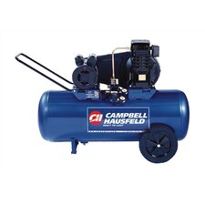 26 Gallon Electric Horizontal Portable Single Stage Air Compressor