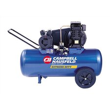 26 Gallon Electric Oil Lubricated Horizontal  Air Compressor