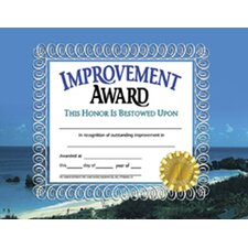 Improvement Award 30pk Certificates