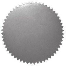 Stickers Silver Blank 50/pk 2