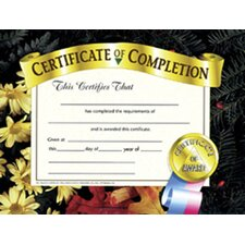 Certificates Of Completion 30 Pk