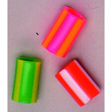 Striped Straw Beads
