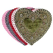 Doilies 4 Red Heart 100/pk