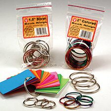 <strong>Hygloss Products Inc</strong> Book Rings 1 50 Per Pack