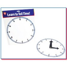 Blank Clock Kit 24 Clocks
