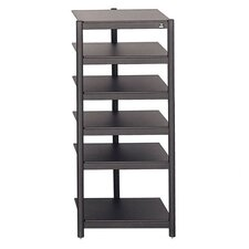 Affiniti 6-Shelf Audio Rack