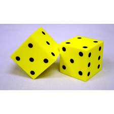 Foam Dice 2 Dot (Set of 2)