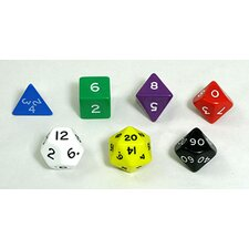 Jumbo Polyhedral Dice (Set of 7)