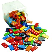 Double 6 Color Dominoes 6 Sets