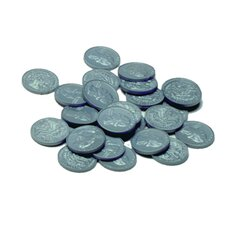 Plastic Coins - Quarters (Set of 100)