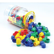 Round Stacking Bricks 108 Piece Set