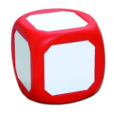 Magnetic Write-on Wipe-off Die Red