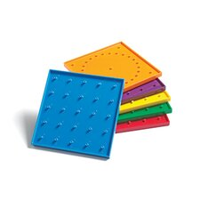6in Double Sided Geoboards
